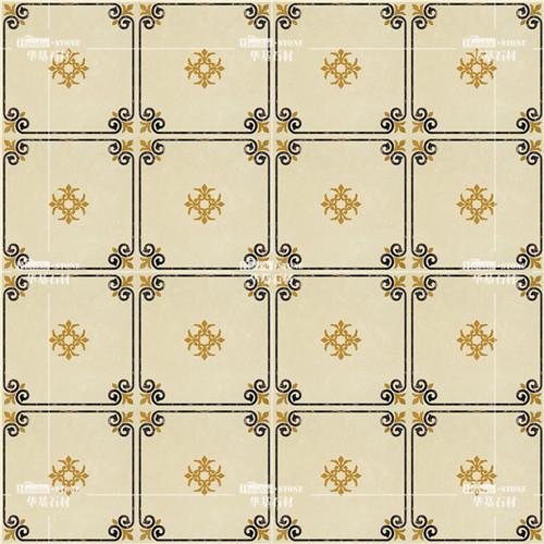 大理石魔方砖图案多样,适合现代,欧式,简约.
