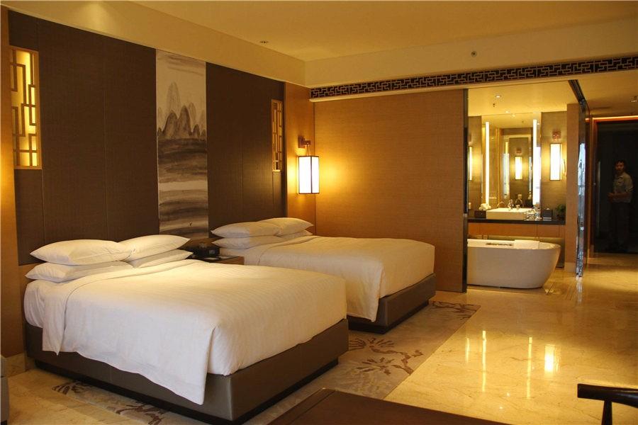 国际顶尖酒店管理集团万豪国际酒店管理集团旗下海口市第一家万豪品